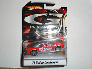 Hot Wheels 'G Machines' '71 Dodge Challenger 1:50 scale diecast