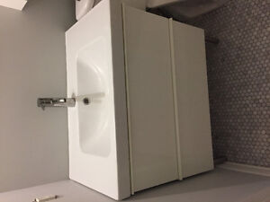 """Ikea Godmorgon 31"""" Vanity with Sink and Faucet"""