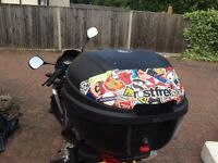 Rostfrei Givi sticker bomb design top box