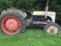 Diesel TEF Fergy tractor