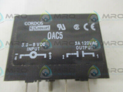Gordos Crouzet 0ac5 Io Relay Module New No Box