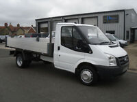 Ford Transit T350 MWB 2.4 TDCI 100ps Brand New Tipper body Only 48500 mls