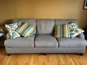 Couch/oversized chair set from Ashley Furniture