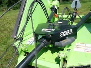 2009 Schulte XH1500-S3 15 foot bat wing mower