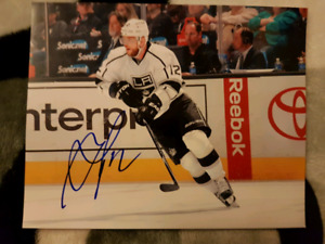 Marian Gaborik Autographed 8x10 Photo For Sale