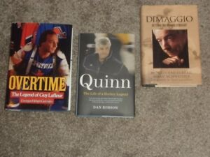 3 SPORT BIO BOOKS FOR SALE. ONLY $10 EACH
