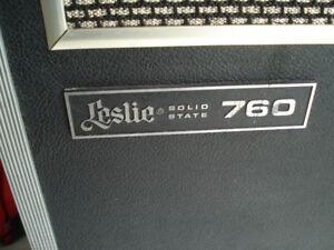 leslie 760 rotary speaker 1970-73, 100% original sound and parts
