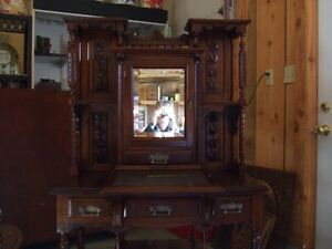 Antique 1880s Victorian Ladies writing desk  $825.00
