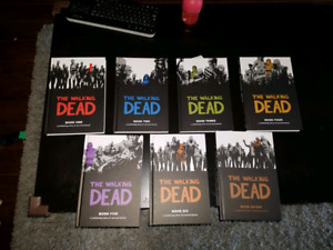 The walking dead books 1 to 7