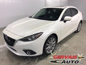 Mazda MAZDA3 GT GPS Toit Ouvrant MAGS 2015