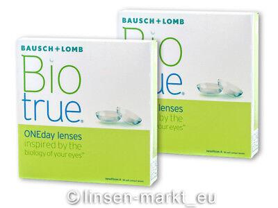 Biotrue ONEday - Bausch&Lomb - 2 x 90 Stück - Tageslinsen Neu&OVP Kontaktlinsen