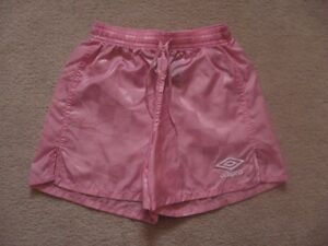 Girl's Pink Umbro Shorts