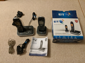 BT7610 twin cordless phone with answer machine