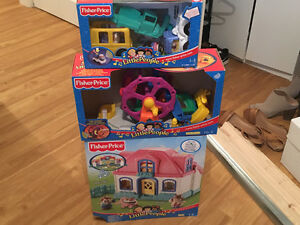 Fisher price little people comme neuf!!!