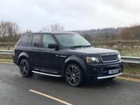 2012 RANGE ROVER SPORT 3.0 SDV6 AUTOBIOGRAPHY LUXURY BLACK 4x4 FULLY LOADED
