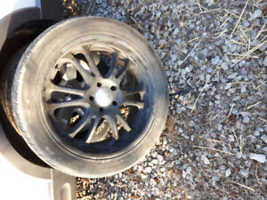 """22"""" boss rims with tires"""