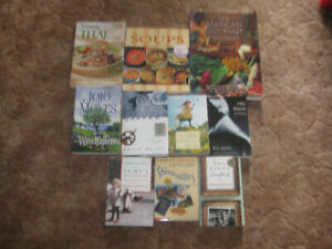 LOT OF 10 ASSORTED BOOKS IN VERY GOOD CONDITION
