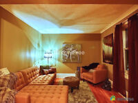 3 bedroom suite; upstairs unit with secure separate entrance.