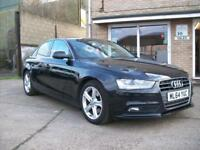 2014 (64) Audi A4 2.0TDIe ( 136ps ) SE Technik in Mythos metallic black.