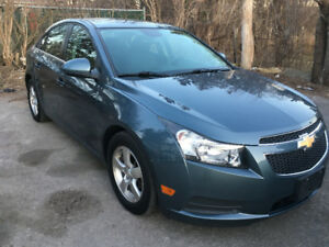 "2012 Chevrolet Cruze LT Turbo "" ACCIDENT FRE/CERTIFIED/ONE OWNER"