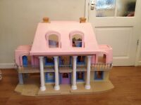 * Little Tikes Massive Dolls House with Furniture etc *