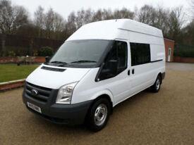 2010 Ford Transit 2.4TDCi T350 LWB, Welfare Van, Mess Van, Toilet Van, Crew Van