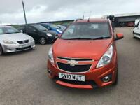 201010 Chevrolet Spark 1.2 LT Petrol Orange 5 Door MOT 11/21.