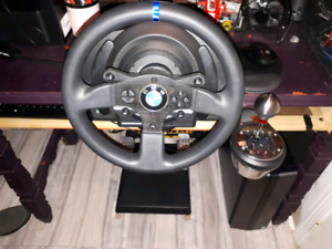 Thrustmaster T300 RS, T3PA Pedals and TH8A Shifter