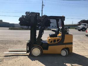 YALE GLC 8000 lb Cap Propane Forklift with 4 way valve