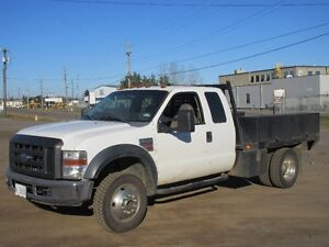 2008 Ford F550 4 X 4 Ext. Cab Tool Truck..80K On Dealer Engi