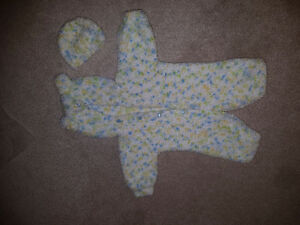 Baby knitted items