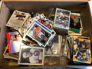 Rare and Unique GIANT hockey card collection. 10,000's cards