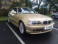 2002 (02) BMW 320 CI 2.2 / Auto / 87K FSH / 12 months MOt /