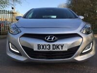 Hyundai i30 1.6 diesel 1 owner £30 tax.