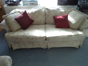 Sofa and Matching Chair - Good condition