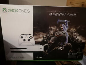 Xbox one S New/Nouveau shadow of Mordor