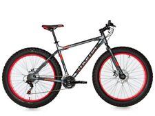 Bicicleta FAT BIKE 26 x 4.00, ALUMINIO SHIMANO 2XDISCO 21VEL