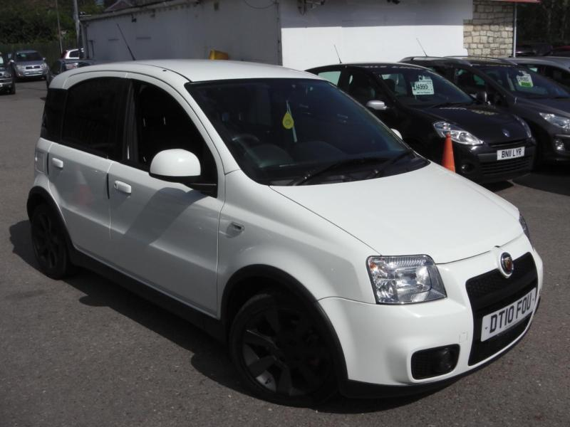 2010 fiat panda 100hp white hatchback petrol in saltford bristol gumtree. Black Bedroom Furniture Sets. Home Design Ideas