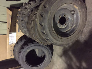 "10 X 16.5"" Skid Steer Tires"