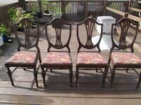 Dining Room Chairs - Set of 4,