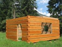 Learn to Build your Own Dovetail Log Cabin