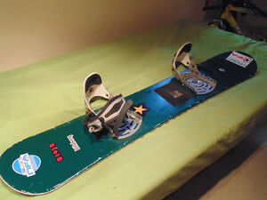 Staple kids board w/partial bindings
