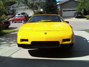 87 Fiero, car show qualities. Drives and looks new