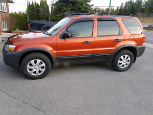 2007 Ford escape 4x4 v6 safetied and etested