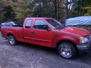 Parting out a 2000 ford truck everything except box