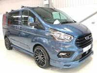 NEW 68 FORD TRANSIT CUSTOM SPORT STYLED CREW CAB LIMITED BLUE LIKE MS-RT 6 SEAT