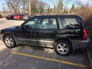 2003 Subaru Forester Sedan $1,200
