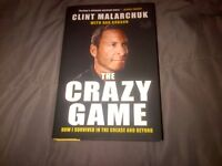 The Crazy Game: How I Survived in the Crease and Beyond Book