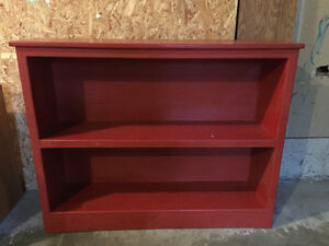 solid wood bookcase - $50 or best offer
