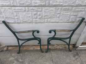 Cast Iron Bench Ends / Garden Furniture / Outdoor Patio chairs